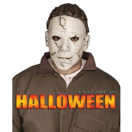 Adults Adult Halloween Pvc Michael Myers Mask for Trick Or Treat Fancy Dress